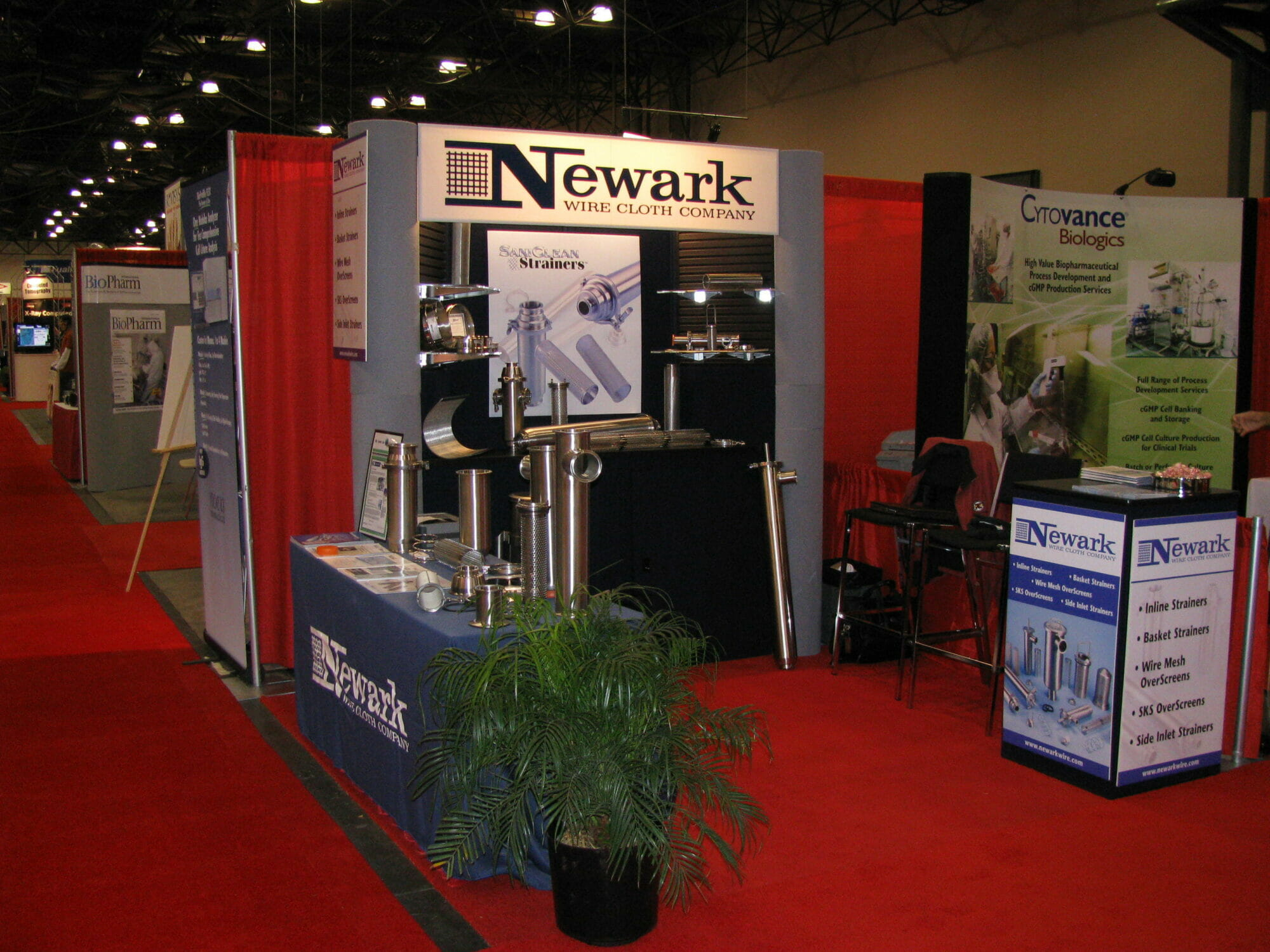 Interphex-20091 - Sanitary Strainers for the Food, Beverage