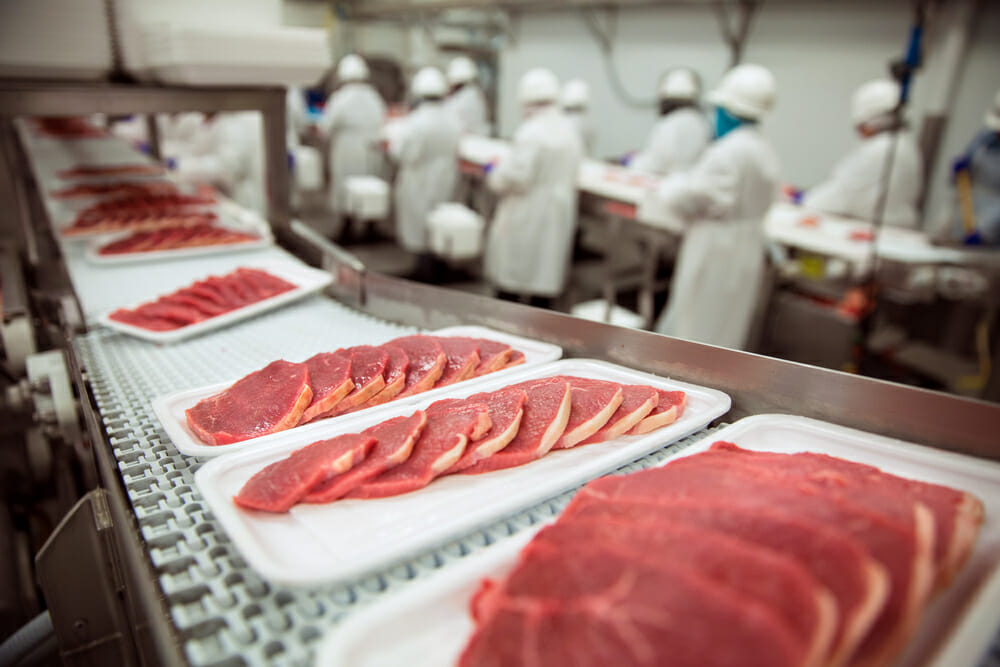 food processors must be especially concerned with preventing cross contaminationthe passing of pathogens or allergens from contaminated to uncontaminated